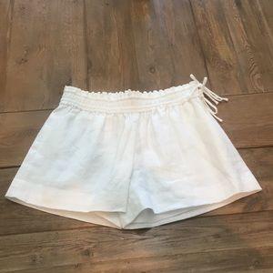 JCrew Linen Pull On Shorts